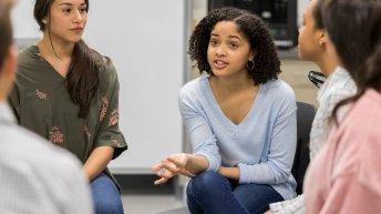 Students Participating in Restorative Circles