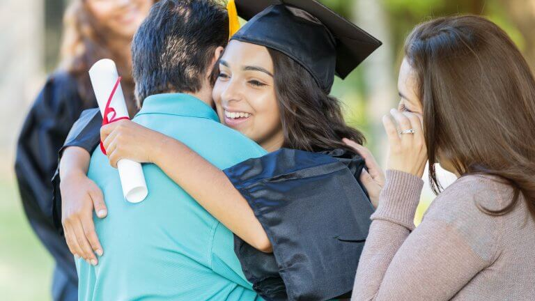 Student Graduates High School