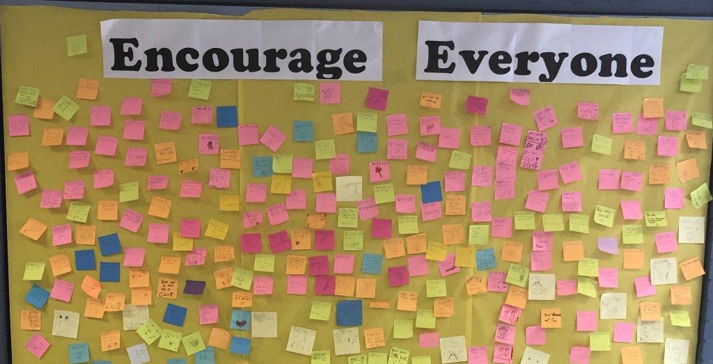 Encouragement Wall
