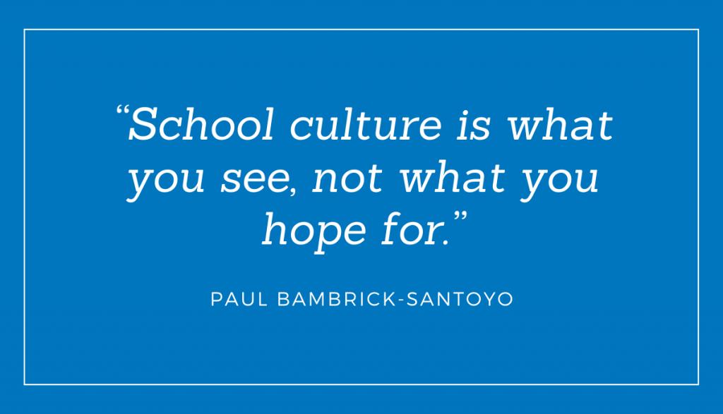 Positive School Culture Quote