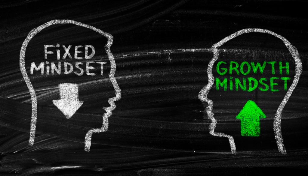 Fixed Mindset and Growth Mindset Image